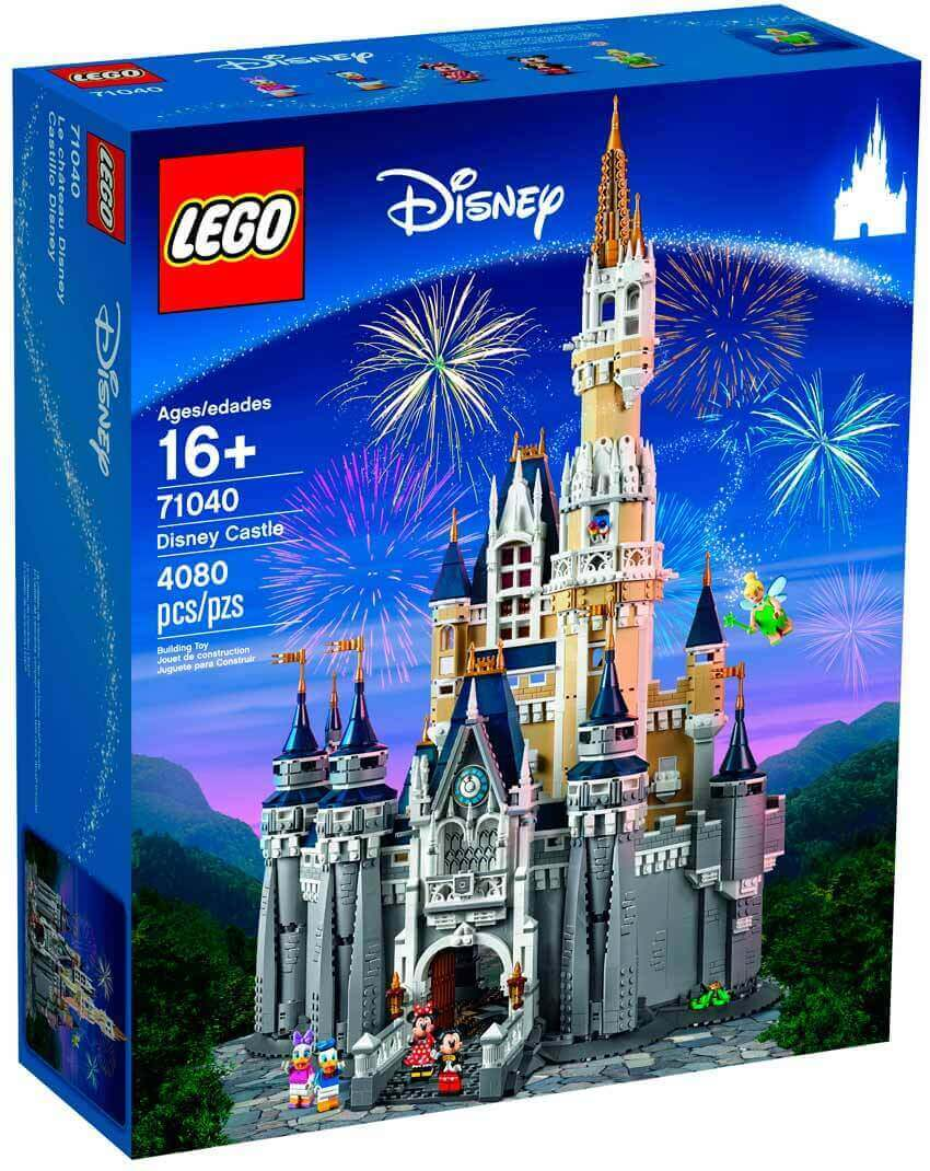 Castillos Disney Lego