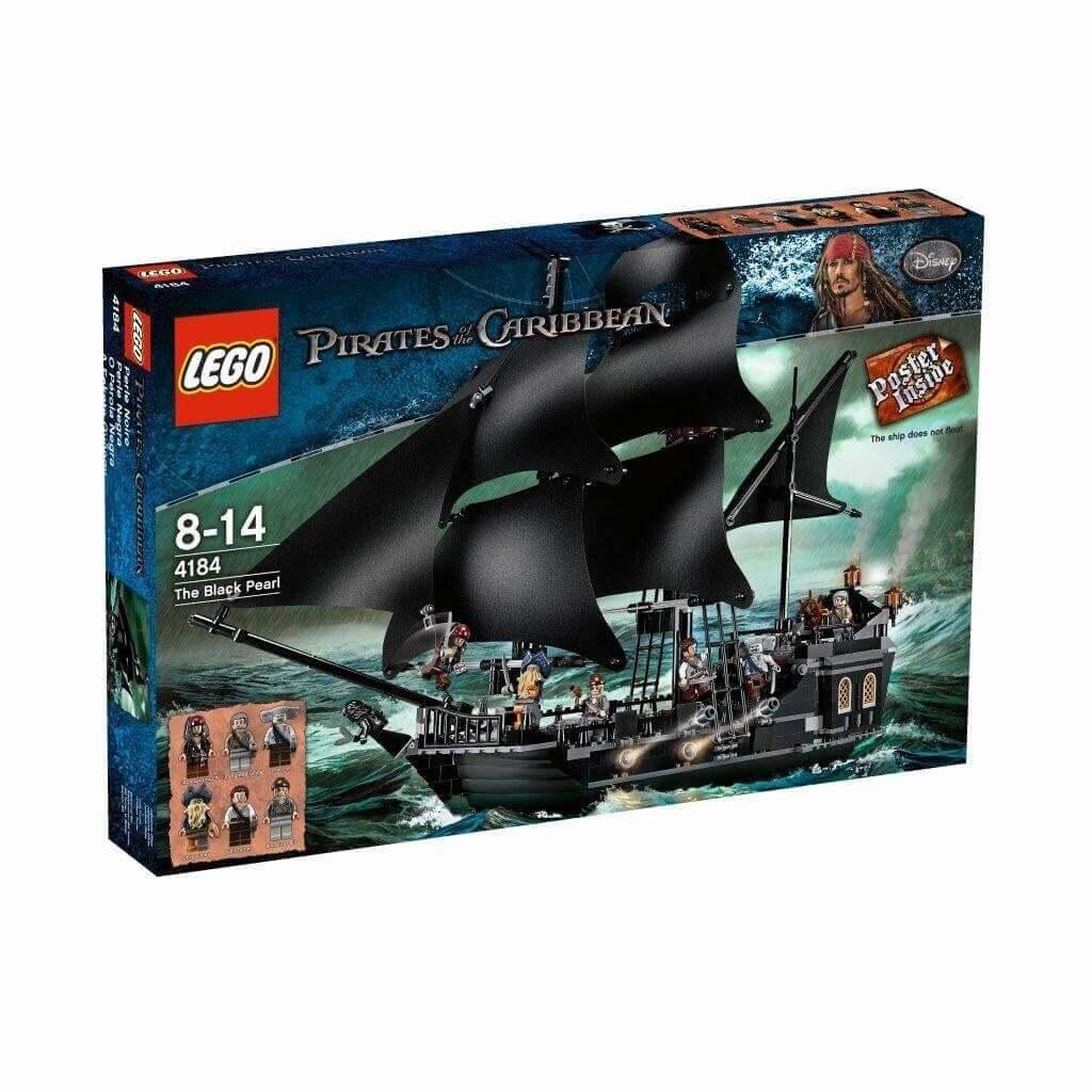 La Perla Negra Lego (4184)