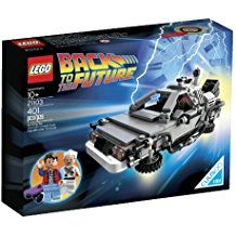 DeLorean Lego de Regreso al Futuro (21103)