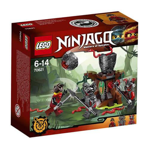 El Ataque de los Vermilliones de Lego Ninjago (70621)