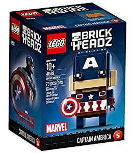 Lego BrickHeadz de Capitán América (41589)