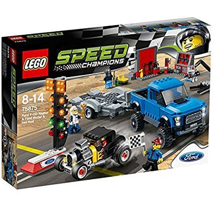 Lego Speed Champions: Ford 150 Raptor y Ford A modificado (75875)