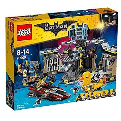 Intrusos en la Batcueva Lego (70909)