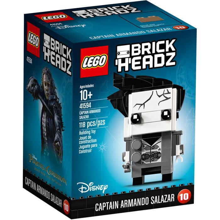 Lego BrickHeadZ: Capitán Armando Salazar (41594)