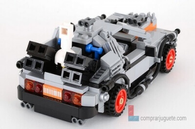 lego ideas delorean de regreso al futuro