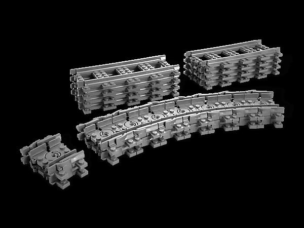 vías de Lego City