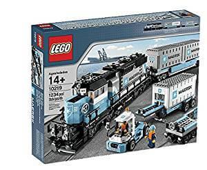 Lego Maersk Tren de Mercancías