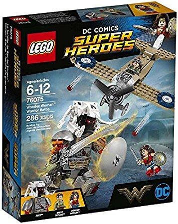 Lego Súper Héroes: Wonder Woman Batalla de Guerreros (76075)
