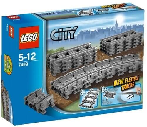 Vías Tren Lego