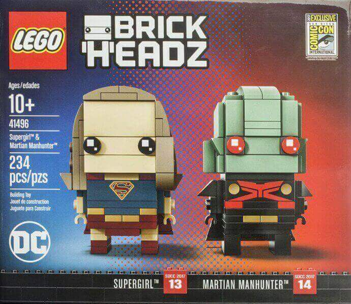 Lego BrickHeadz: Supergirl y el Detective Marciano