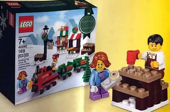 Nuevos sets navideños de Lego